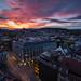 Cityscape Zürich / sunset bloody mary by Cem Bayir