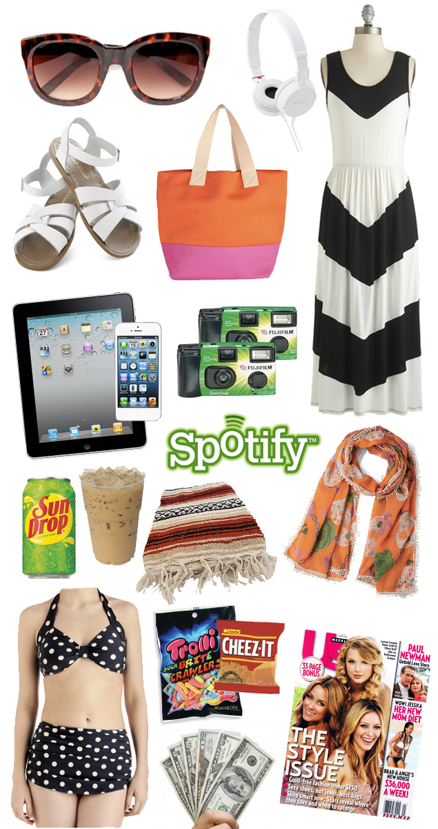 This Charming Life By Kaelah Bee Summer Roadtrip Essentials