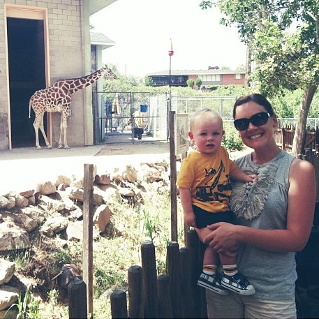 A fun morning at the zoo!