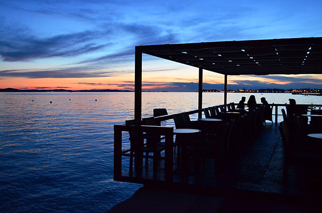 Sunset from Zadar Bar, Croatia
