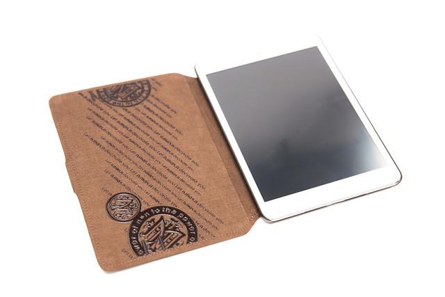 迷你質感 N.MAX.N Passion iPad mini 歐洲牛革手工精製保護套 @3C 達人廖阿輝