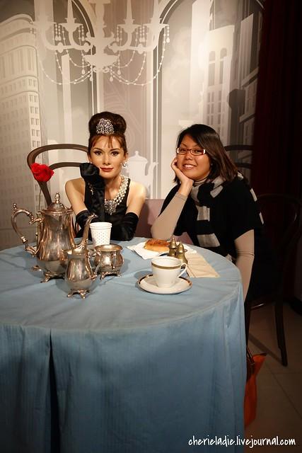 Audrey Hepburn & Cindy