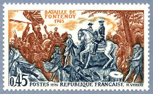 Bataille de Fontenoy. 1745
