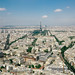 Paris cityscape taken form Ciel De Paris by lomokev