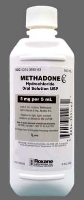 methadone oral solution 1mg/ml Roxane