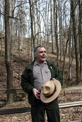 Ranger Keven at Mammoth Cave National Park