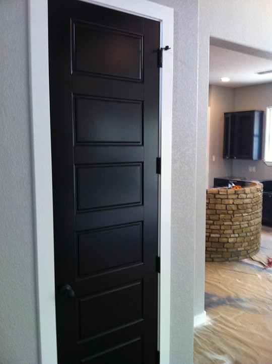 wood interior doors with white trim. design decisions wall trim and door colors wills casawills casa wood interior doors with white m