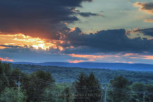 sunset summer sky clouds rural pennsylvania country august powerlines lehman friday telephonepoles 16th hdr nepa bmr edr luzernecounty outletroad backmountain 2013 backmountainrecreation