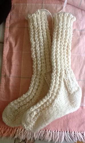 Afghans for afghans socks