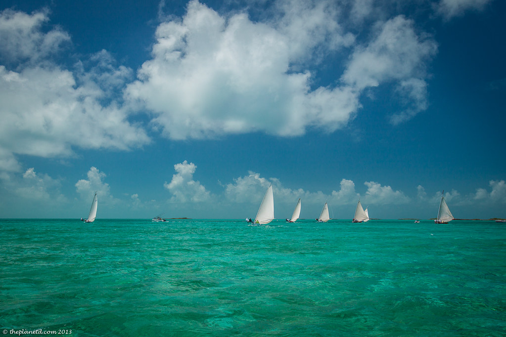 Sail Boats in the Caribbean
