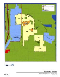 "proposed zoning change ro ""residential urban"" (via draft Lilac Hills Ranch Specific Plan)"