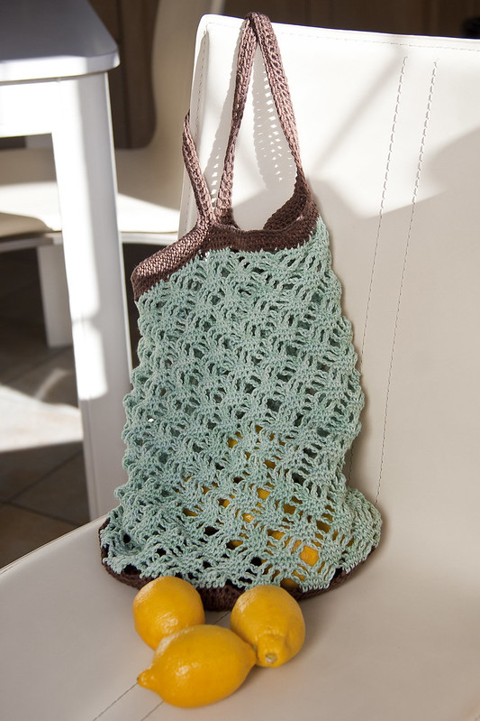 Mint Chocolate Market Bag