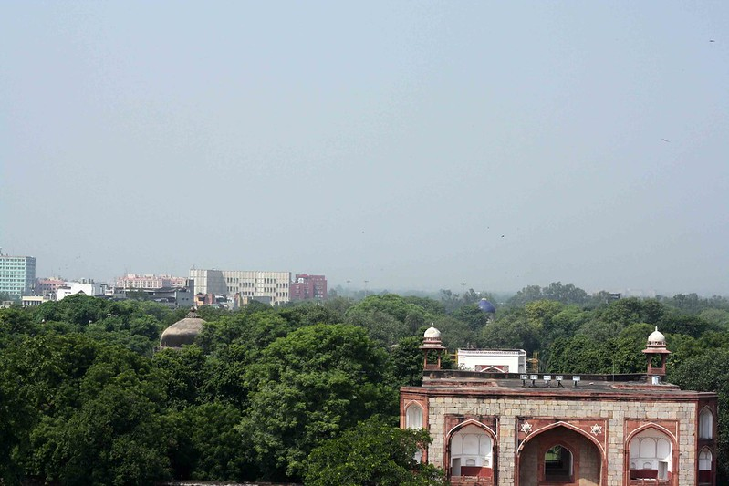 City Monument - Restored Ruin, Humayun's Tomb