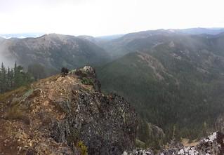 Lookout Mountain and Quartz Mountain