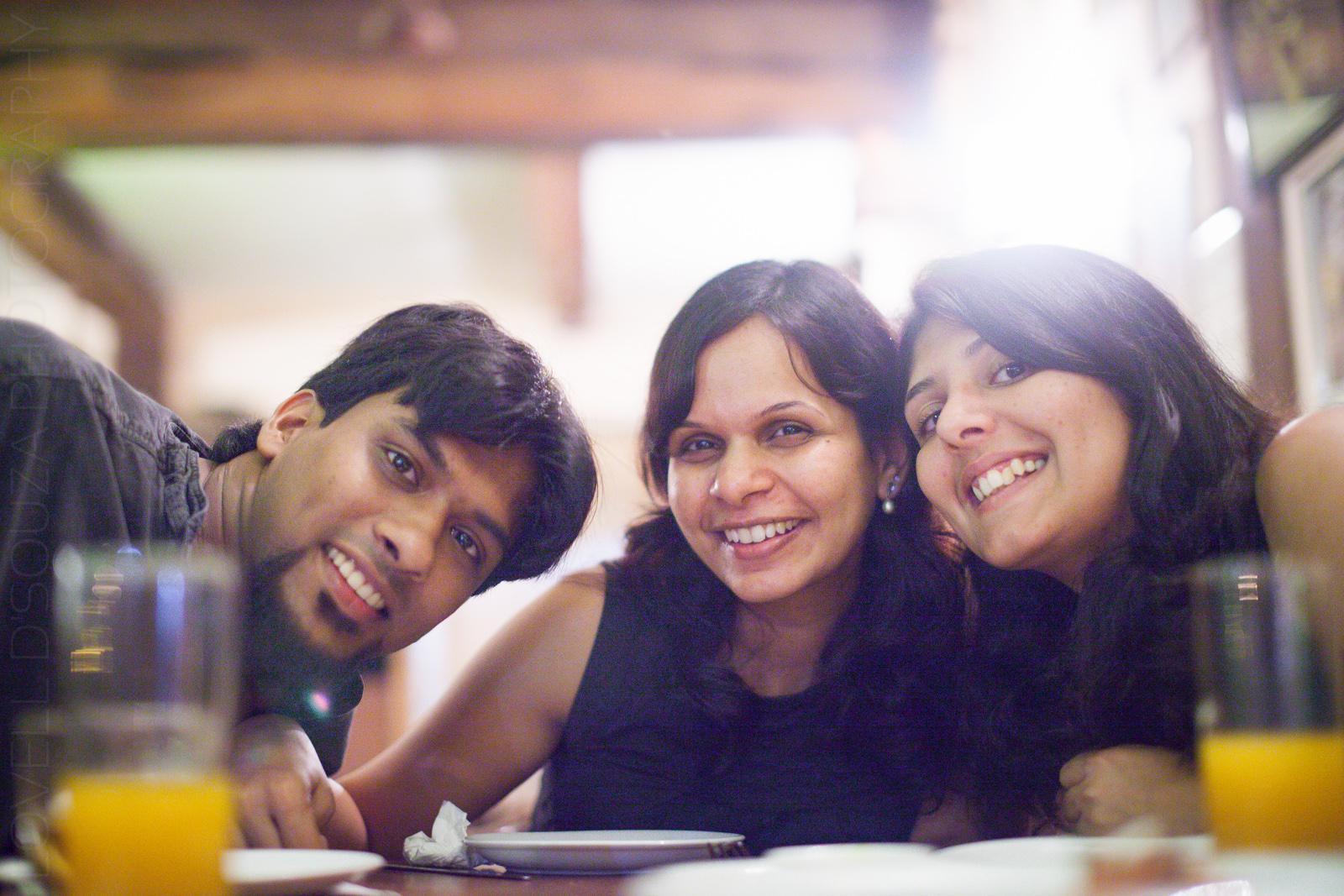 Daniel, Melanie & Priya