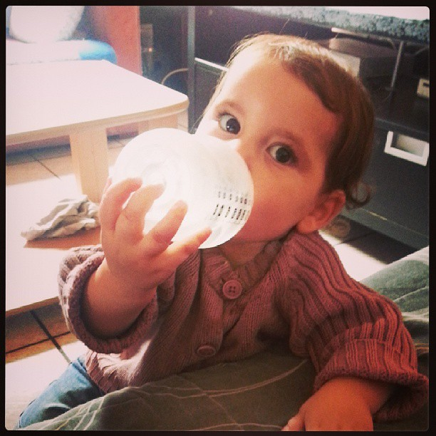 La crèche c'est super bien passer avec des dames inconnues... donc j'ai préciser que néné n'irait pas les jours où sa sera la dame que je ne sens pas. Sa n'a pas plus et bien c'est pareil.  ^^ #blog #blogueuse #ourlittlefamily #france