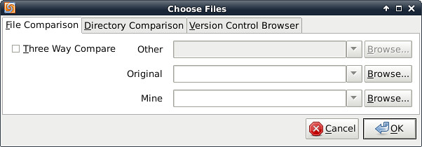compare two pdf files linux