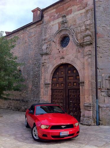 En Medinaceli (Zaragoza)