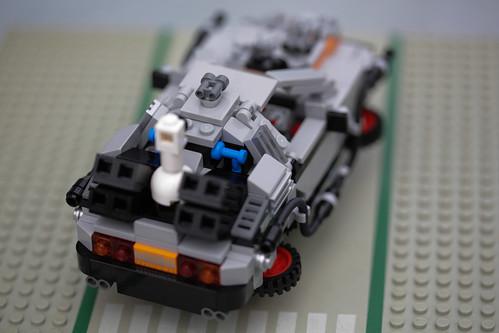 LEGO De Lorean デロリアン