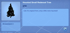 Haunted Small Redwood Tree
