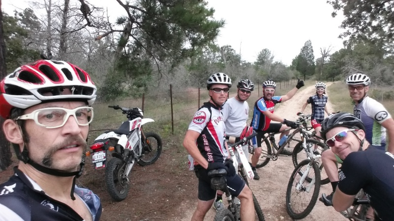 Pre ride at Rocky Hill Ranch.