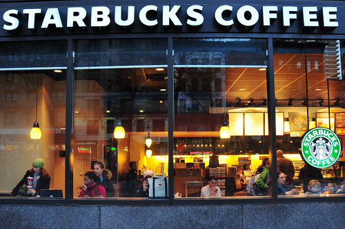 Starbuck's, New York City (by: Ed Yourdon, creative commons)