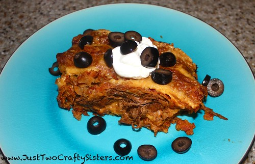 homemade shredded beef enchiladas recipe