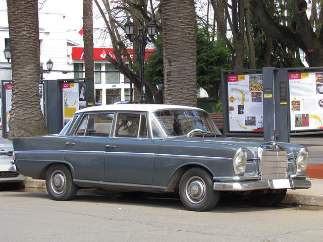 Mercedes Benz 220 S 1963