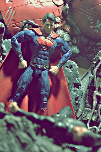 Man of Steel vs General Zod