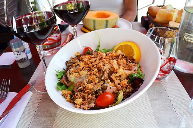Lentil salad, Le Terminus, Tarascon, Provence