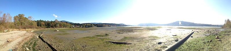 Panorama from Maplewood Mudflats