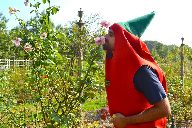 A chile-head at Chile Pepper Festival. Photo by Blanca Begert.