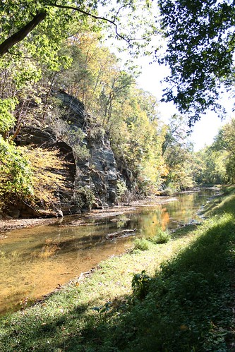 Flow of the C & O canal