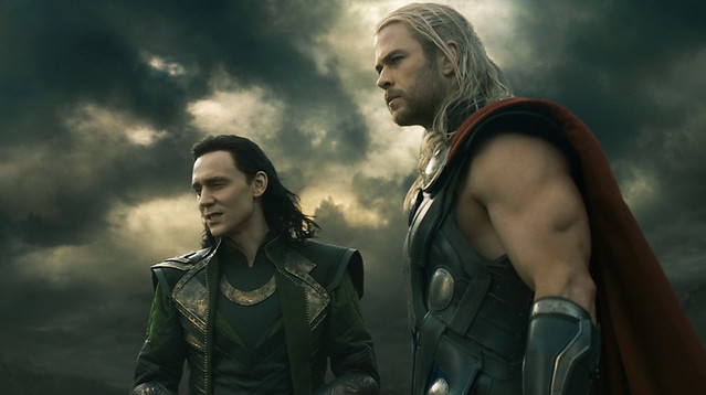 Thor 2 The Dark World Loki Tom Hiddleston Chris Hemsworth brothers