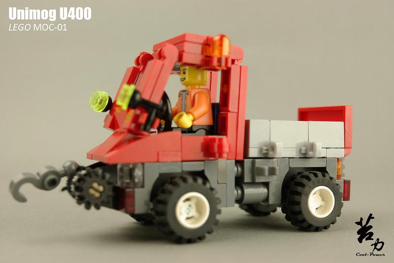 Lego Unimog U400-0016