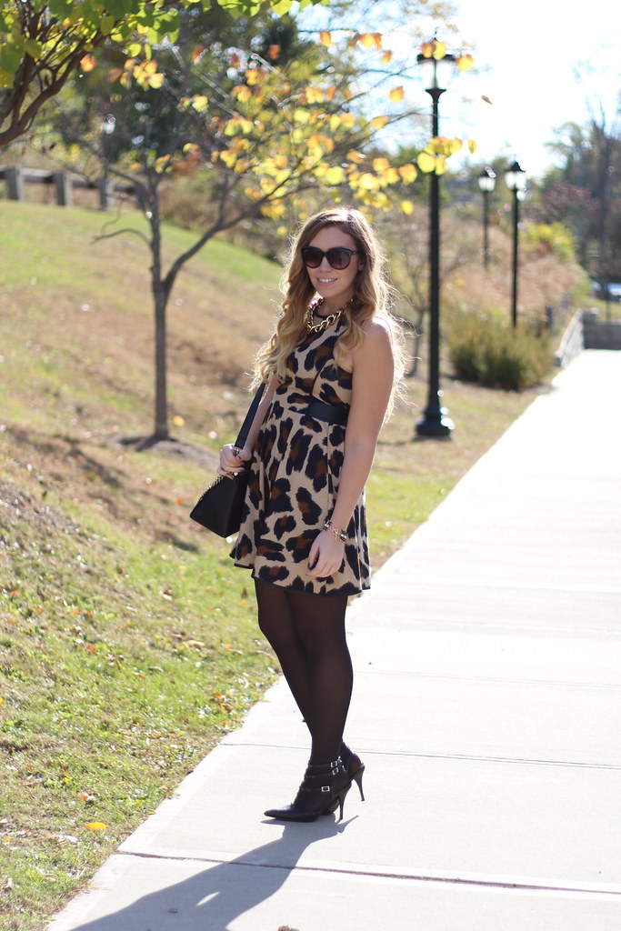 Living After Midnite: Holiday Dressing in Leopard