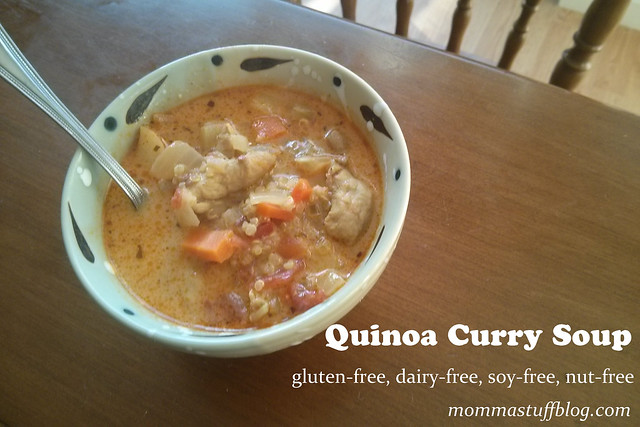 Quinoa Curry Soup