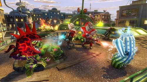 Split-screen makes Plants vs Zombies: Garden Warfare a rare