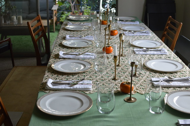 pre-giving table