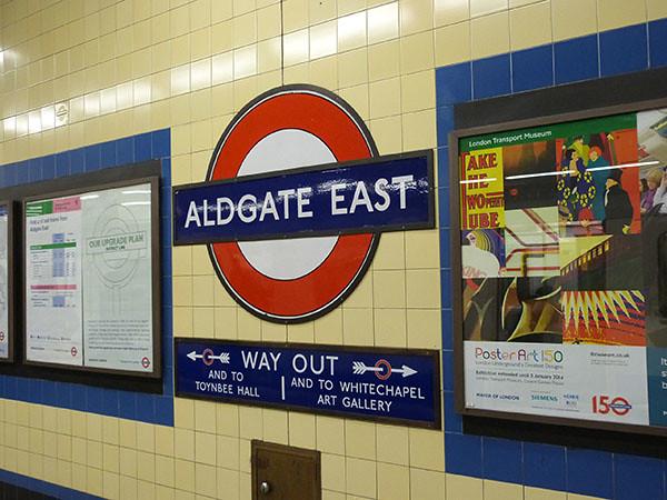aldgate east