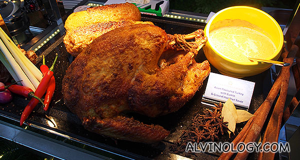 Asian-flavoured Turkey with Cumin & Ground Hazelnut Sauce (5.5kg) - $115.60
