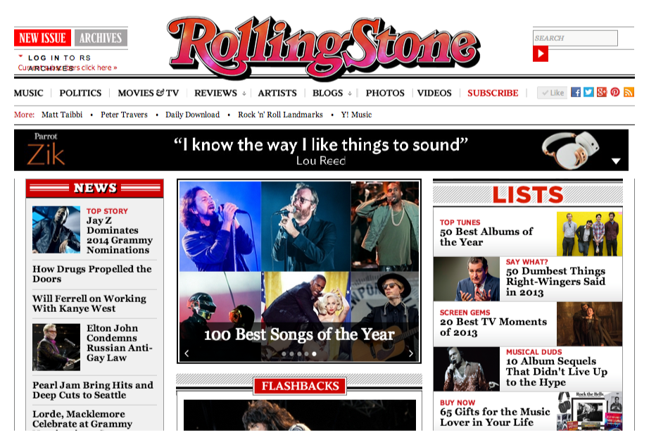 Rolling Stone   Music News, Politics, Interviews, Pictures and Reviews