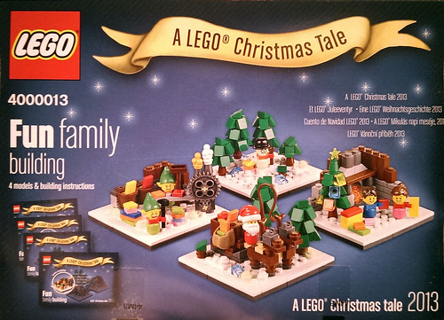 LEGO Christmas Tale Back