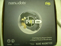 Nanodots GYRO - Motion & Magnetism by tend2it