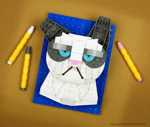 Grumpy Cat by customBRICKS