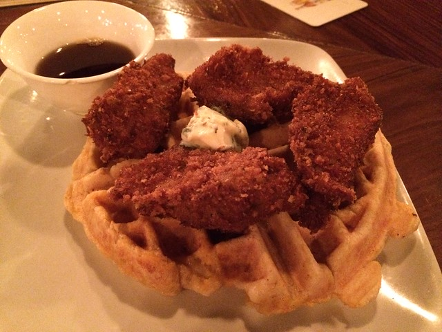 Lover's chicken and waffles - Dear Mom