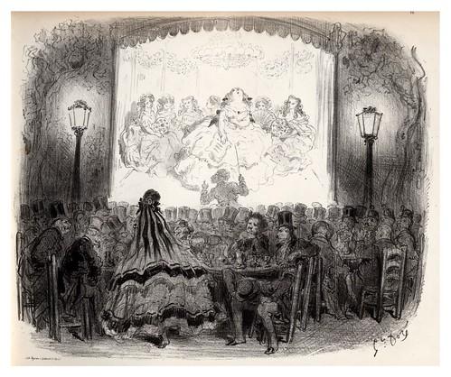 010-Ratas de jardin-La Ménagerie parisienne, par Gustave Doré -1854- Fuente gallica.bnf.fr-BNF