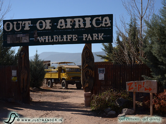PIC: Out of Africa Wildlife Park - Entrance