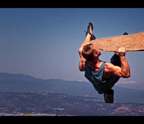 Hanging Out at Potato Chip Rock – Mt. Woodson, Poway, California