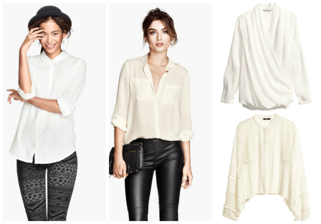 camisas H&M